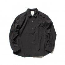 O-(オー)/ BAGGY SHIRT バギーシャツ O-S-04 - Black