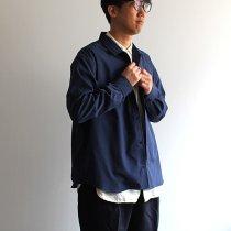 O-(オー)/ BAGGY SHIRT バギーシャツ O-S-04 - Navy