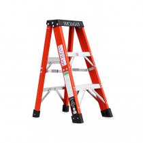 Michigan Ladder Company / Fiberglass Stepladder ファイバーグラスステップラダー - Size 3<img class='new_mark_img2' src='https://img.shop-pro.jp/img/new/icons47.gif' style='border:none;display:inline;margin:0px;padding:0px;width:auto;' />