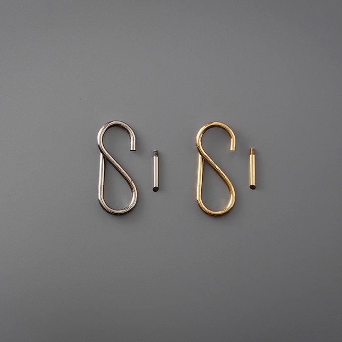143266875 CANDY DESIGN & WORKS / Bill CHW-06 キーリング - Brass 02