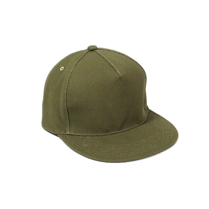 143277996 Trad Marks / Basic Cap CV ベーシックキャップ キャンバス - Olive 01