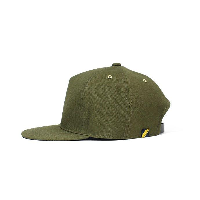 143277996 Trad Marks / Basic Cap CV ベーシックキャップ キャンバス - Olive 02