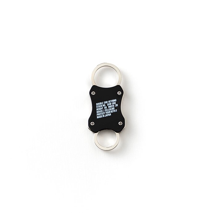 144033873 CANDY DESIGN & WORKS / Wilson CHW-05S スプリング式キーリング - Black 01