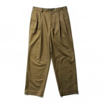 THEE(シー)/ high-rise wide trousers ハイウエストワイドトラウザーズ HT-PT-02-B Olive<img class='new_mark_img2' src='https://img.shop-pro.jp/img/new/icons20.gif' style='border:none;display:inline;margin:0px;padding:0px;width:auto;' />