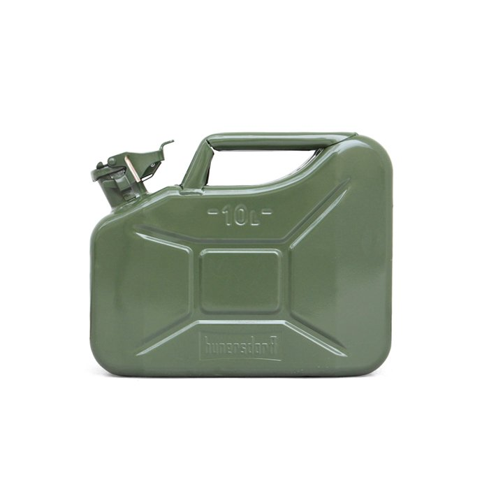 145050357 Hunersdorff / Metal Fuel Can Classic 10L ヒューナースドルフ 燃料携行缶 02
