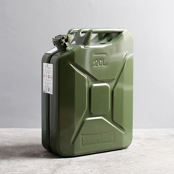 145050393 Hunersdorff / Metal Fuel Can Classic 20L ヒューナースドルフ ガソリン携行缶<img class='new_mark_img2' src='https://img.shop-pro.jp/img/new/icons47.gif' style='border:none;display:inline;margin:0px;padding:0px;width:auto;' /> 01