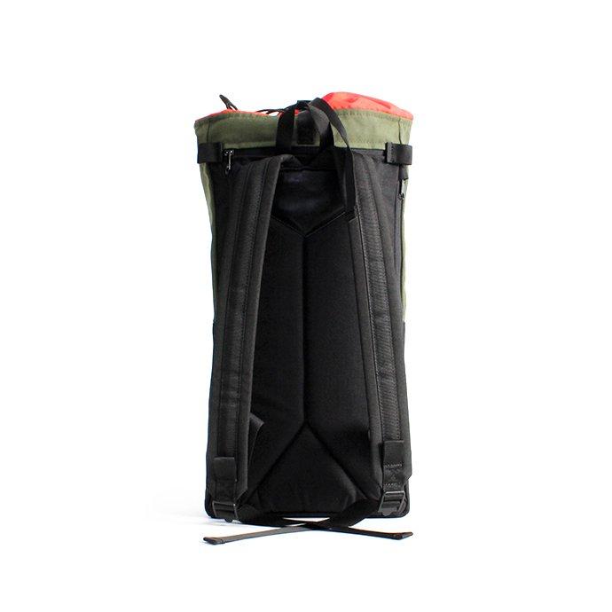 145408075 BRAASI INDUSTRY / TEKLA ALPINIST - 20L Olive 耐水バックパック 02