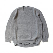 crepuscule / wholegarment V/N pullover 1903-008 Gray ホールガーメントVネックプルオーバー グレー<img class='new_mark_img2' src='https://img.shop-pro.jp/img/new/icons47.gif' style='border:none;display:inline;margin:0px;padding:0px;width:auto;' />