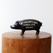 Hams Standing Pig Bank - Black ハムズスタンディングピッグバンク<img class='new_mark_img2' src='https://img.shop-pro.jp/img/new/icons47.gif' style='border:none;display:inline;margin:0px;padding:0px;width:auto;' />