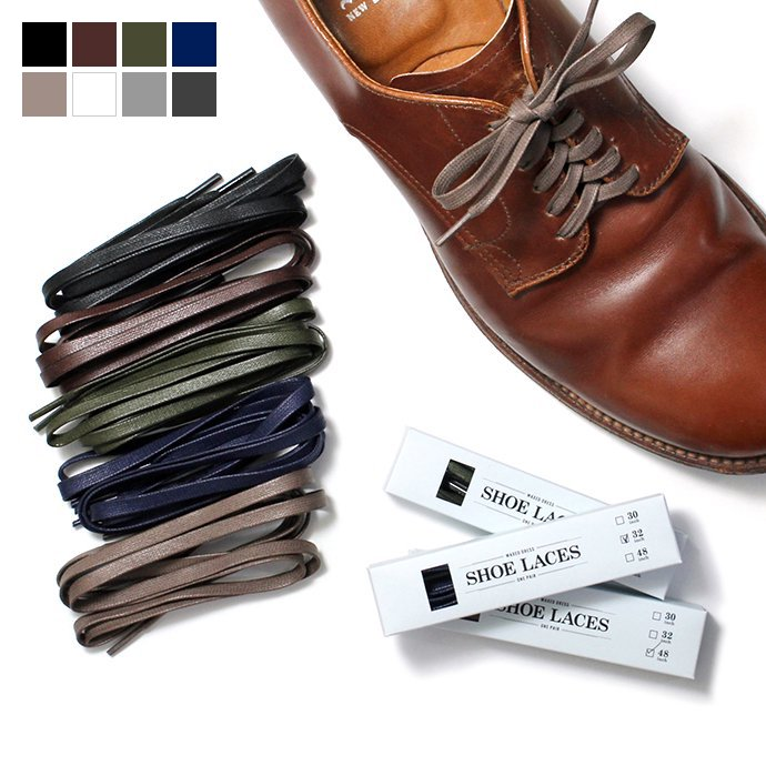 31206972 This is... / Waxed Dress Shoelaces ワックスドシューレース - 6サイズ・8色 01
