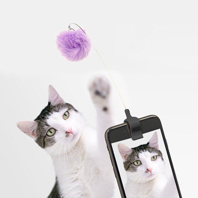 148825438 KIKKERLAND / Kitty Phone Clip キティーフォンクリップ 01