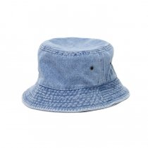 Newhattan / 1530 Denim Bucket Hat - Light Blue ニューハッタン デニムバケットハット ライトブルー<img class='new_mark_img2' src='https://img.shop-pro.jp/img/new/icons20.gif' style='border:none;display:inline;margin:0px;padding:0px;width:auto;' />