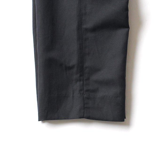 150379576 STILL BY HAND / PT03202 コットンリネン ワイドスラックス - Black 02