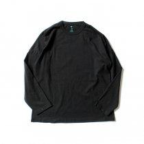 O-(オー)/ FLAT - L.S.T. 長袖Tシャツ O-S-13 - Black