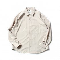 O-(オー)/ BAGGY SHIRT バギーシャツ O-S-04 Sand<img class='new_mark_img2' src='https://img.shop-pro.jp/img/new/icons20.gif' style='border:none;display:inline;margin:0px;padding:0px;width:auto;' />