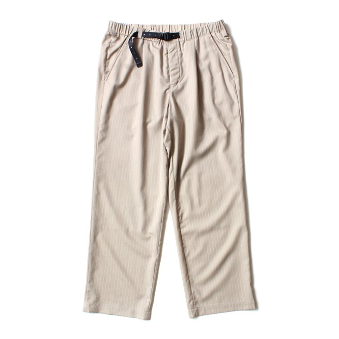 151862891 O-(オー)/ EASY TROUSERS イージートラウザーズ 20S-09 - Sand Stripe<img class='new_mark_img2' src='https://img.shop-pro.jp/img/new/icons20.gif' style='border:none;display:inline;margin:0px;padding:0px;width:auto;' /> 01