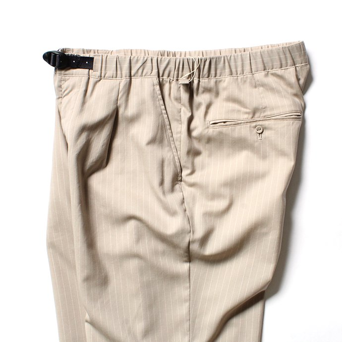 151862891 O-(オー)/ EASY TROUSERS イージートラウザーズ 20S-09 - Sand Stripe<img class='new_mark_img2' src='https://img.shop-pro.jp/img/new/icons20.gif' style='border:none;display:inline;margin:0px;padding:0px;width:auto;' /> 02