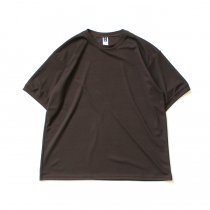 SMOKE T ONE / Dry Pique Tee ドライ鹿の子Tシャツ - Brown<img class='new_mark_img2' src='https://img.shop-pro.jp/img/new/icons47.gif' style='border:none;display:inline;margin:0px;padding:0px;width:auto;' />