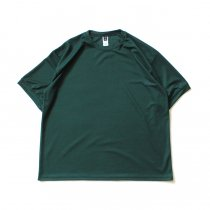 SMOKE T ONE / Dry Pique Tee ドライ鹿の子Tシャツ - Green<img class='new_mark_img2' src='https://img.shop-pro.jp/img/new/icons20.gif' style='border:none;display:inline;margin:0px;padding:0px;width:auto;' />