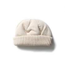 crepuscule / Knit cap 2003-017 White ニットキャップ ホワイト<img class='new_mark_img2' src='https://img.shop-pro.jp/img/new/icons47.gif' style='border:none;display:inline;margin:0px;padding:0px;width:auto;' />