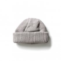 crepuscule / Knit cap 2003-017 L.gray ニットキャップ ライトグレー<img class='new_mark_img2' src='https://img.shop-pro.jp/img/new/icons20.gif' style='border:none;display:inline;margin:0px;padding:0px;width:auto;' />