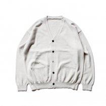 crepuscule / 2003-010 Cashmere cardigan - White カシミアニットカーディガン ホワイト