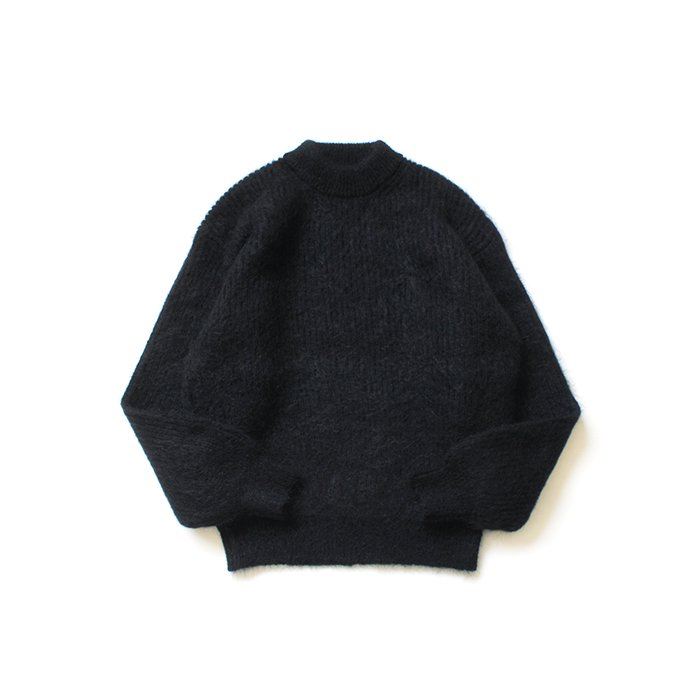 153755142 blurhms ROOTSTOCK / Kid Mohair Alpaca Wool Knit P/O - Black ROOTS-RKAW19AW036F20<img class='new_mark_img2' src='https://img.shop-pro.jp/img/new/icons20.gif' style='border:none;display:inline;margin:0px;padding:0px;width:auto;' /> 01