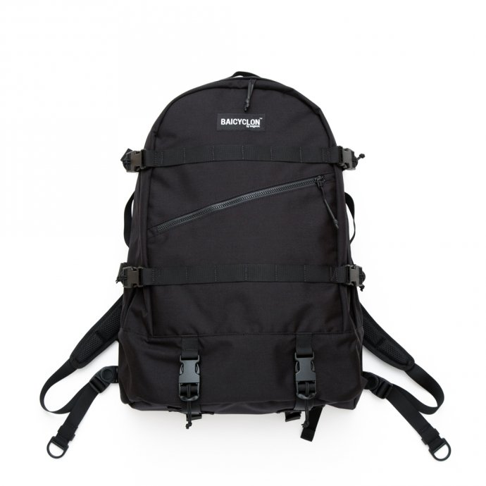 153795786 BAICYCLON by bagjack / BCL-02 - Black バイシクロンバイバッグジャック バックパック ブラック<img class='new_mark_img2' src='https://img.shop-pro.jp/img/new/icons47.gif' style='border:none;display:inline;margin:0px;padding:0px;width:auto;' /> 01