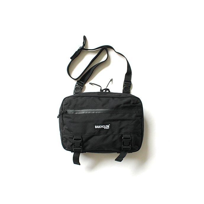 153795930 BAICYCLON by bagjack / BCL-04 - Black バイシクロンバイバッグジャック ミニショルダーバッグ ブラック 01