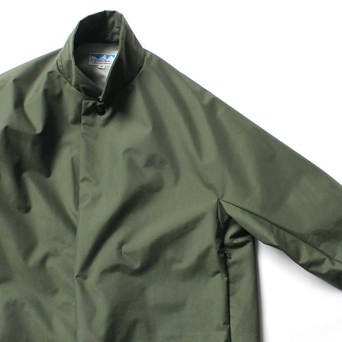 153905227 Powderhorn Mountaineering / P.H. M. LONG COAT 3Lナイロン シェルコート PH20FW-002 - Olive<img class='new_mark_img2' src='https://img.shop-pro.jp/img/new/icons20.gif' style='border:none;display:inline;margin:0px;padding:0px;width:auto;' /> 02