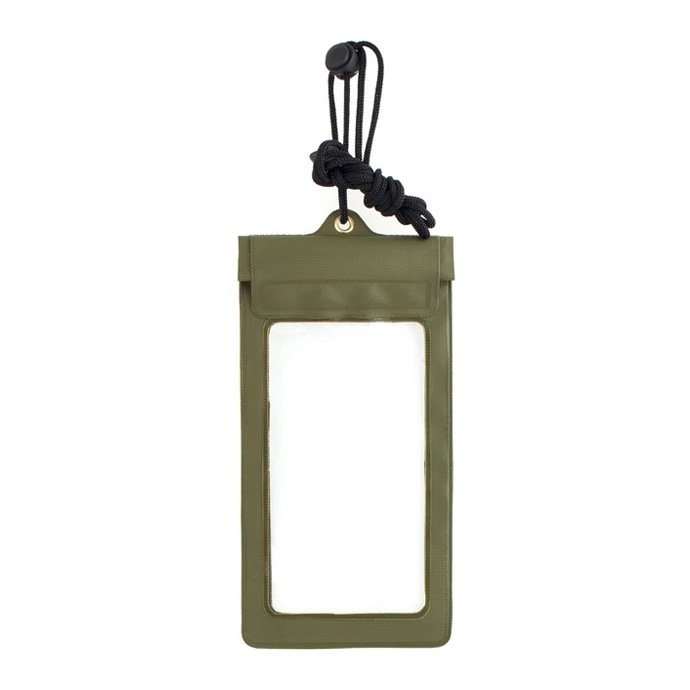 154098727 KIKKERLAND / Waterproof Phone Sleeve - Green ウォータープルーフ フォンスリーブ グリーン 01