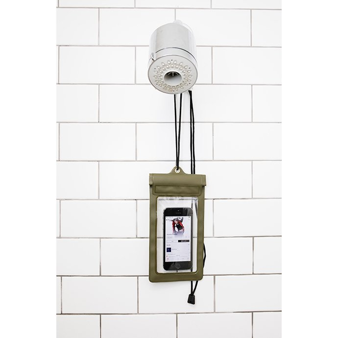 154098727 KIKKERLAND / Waterproof Phone Sleeve - Green ウォータープルーフ フォンスリーブ グリーン 02