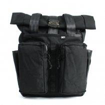 【予約販売】DEFY / VerBockel 'Day Pack' Rolltop Backpack - Black ロールトップバックパック 全2素材<img class='new_mark_img2' src='https://img.shop-pro.jp/img/new/icons47.gif' style='border:none;display:inline;margin:0px;padding:0px;width:auto;' />