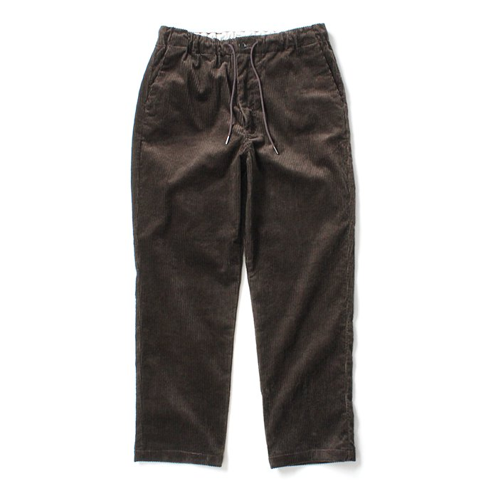 155064693 STILL BY HAND / PT02204 コーデュロイ イージーパンツ - Brown<img class='new_mark_img2' src='https://img.shop-pro.jp/img/new/icons20.gif' style='border:none;display:inline;margin:0px;padding:0px;width:auto;' /> 01