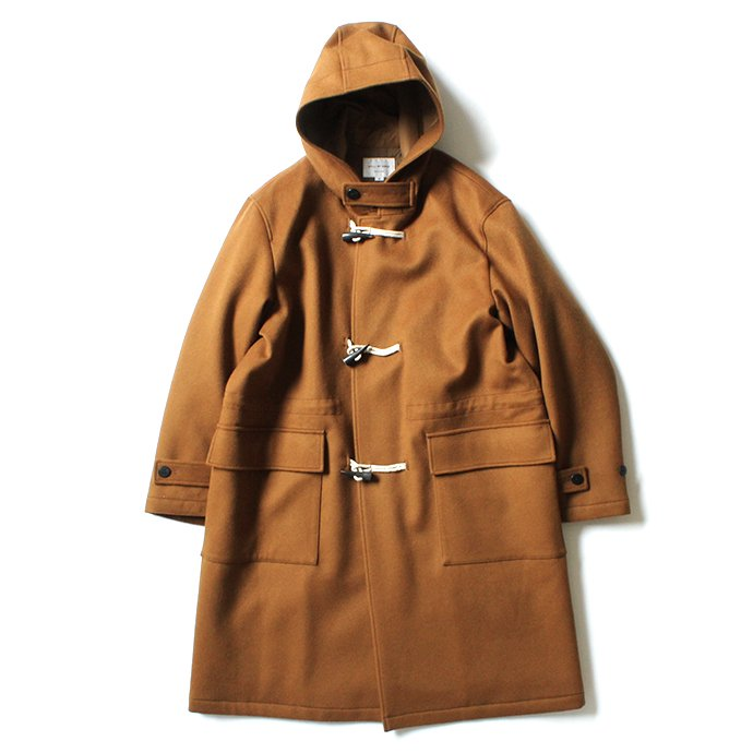 155238163 STILL BY HAND / CO02204 ダッフルコート - Tabacco 01