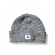 PORTWEST / Rechargeable Twin LED Beanie ポートウエスト ツインLED ヘッドライトビーニー - Grey<img class='new_mark_img2' src='https://img.shop-pro.jp/img/new/icons20.gif' style='border:none;display:inline;margin:0px;padding:0px;width:auto;' />