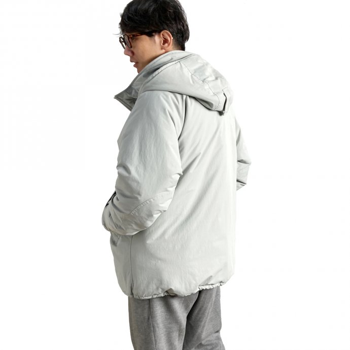 155547359 O-(オー)/ SLEEPY PARKA O-W-15 - Space Gray 02