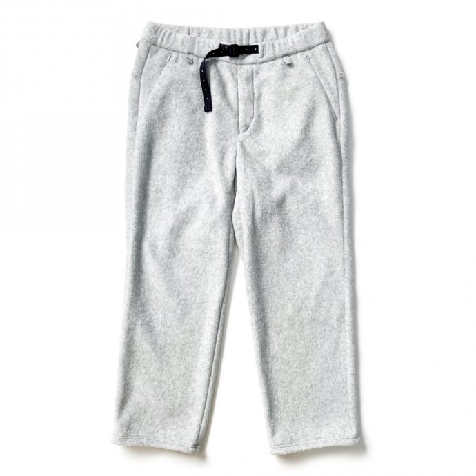 155564058 O-(オー)/ FREE SWEAT PANTS フリースイージーパンツ 21W-03 - Heather Gray 01