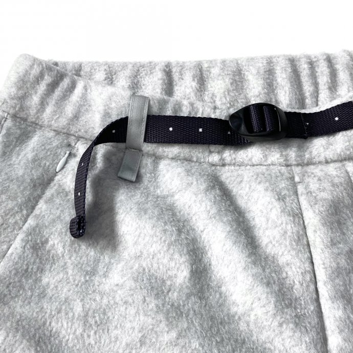 155564058 O-(オー)/ FREE SWEAT PANTS フリースイージーパンツ 21W-03 - Heather Gray 02