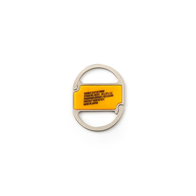 156186397 CANDY DESIGN & WORKS / Oregon CK-17S クリップキーリング - Orange 01