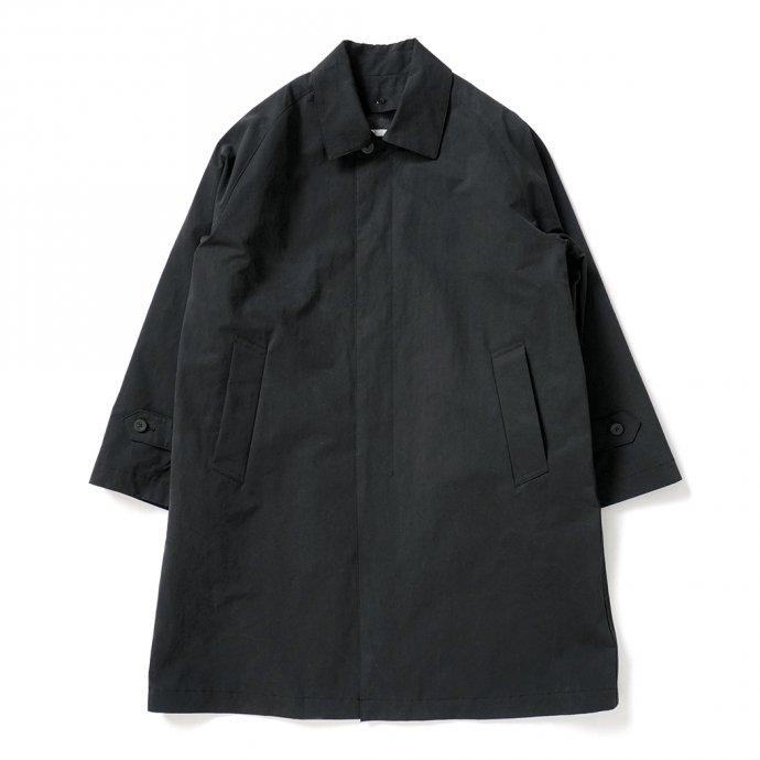 156297340 STILL BY HAND / CO03204 ステンカラーコート - Black 01