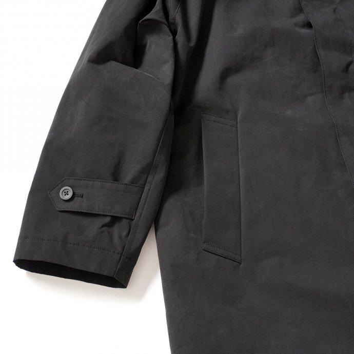 156297340 STILL BY HAND / CO03204 ステンカラーコート - Black 02