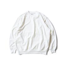 blurhms ROOTSTOCK / Silk Cotton 20/80 Crew-neck BIG L/S - Off シルクコットンクルーネックカットソー ROOTS2107