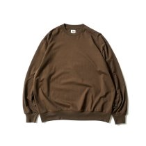 blurhms ROOTSTOCK / Silk Cotton 20/80 Crew-neck BIG L/S - KhakiBrown シルクコットンクルーネックカットソー ROOTS2107<img class='new_mark_img2' src='https://img.shop-pro.jp/img/new/icons47.gif' style='border:none;display:inline;margin:0px;padding:0px;width:auto;' />