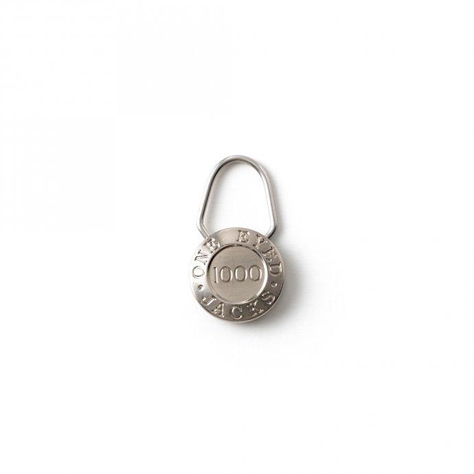 156339745 CANDY DESIGN & WORKS / One Eyed Jacks CK-24 キーリング - Nickel 01