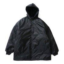 ASW Jackets / Coaches Hooded Windbreaker - Black ナイロン フーデッドコーチジャケット ブラック