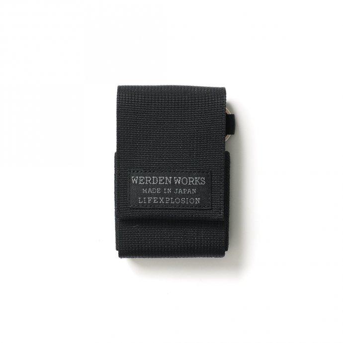 156800327 WERDENWORKS / KEY CASE TYPE 3 KC003 - Black 01