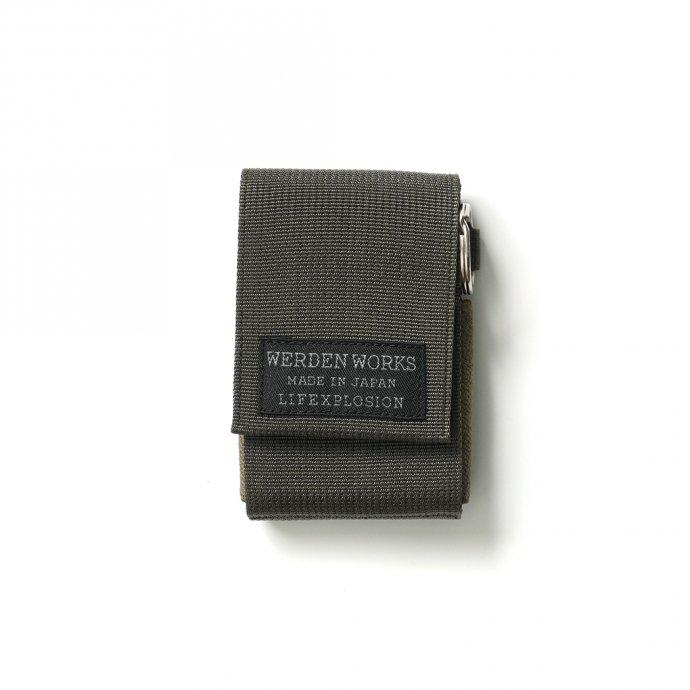 156800498 WERDENWORKS / KEY CASE TYPE 3 KC003 - Olive キーケース タイプ3 オリーブ 01