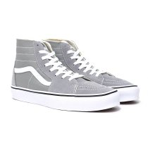 VANS / Sk8-Hi Tapered - Drizzle/True White ヴァンズ スケートハイテーパード グレー VN0A4U16IYP
