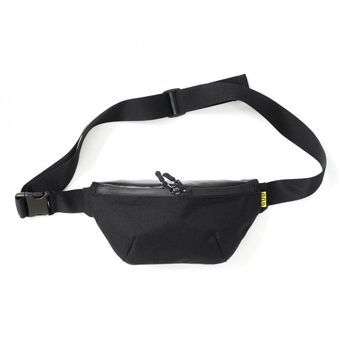 157325170 GUD / Waist Bag 3.0 - Black ウエストバッグ3.0 ブラック 01